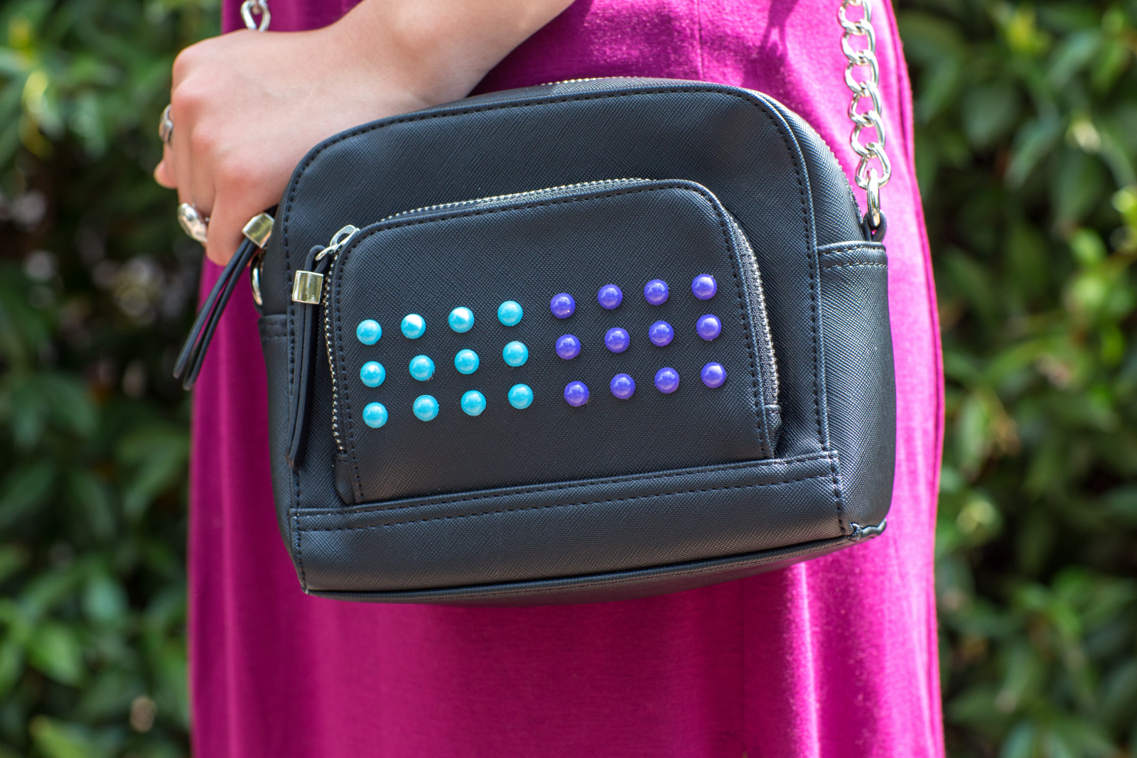 DIY Candy Button Purse