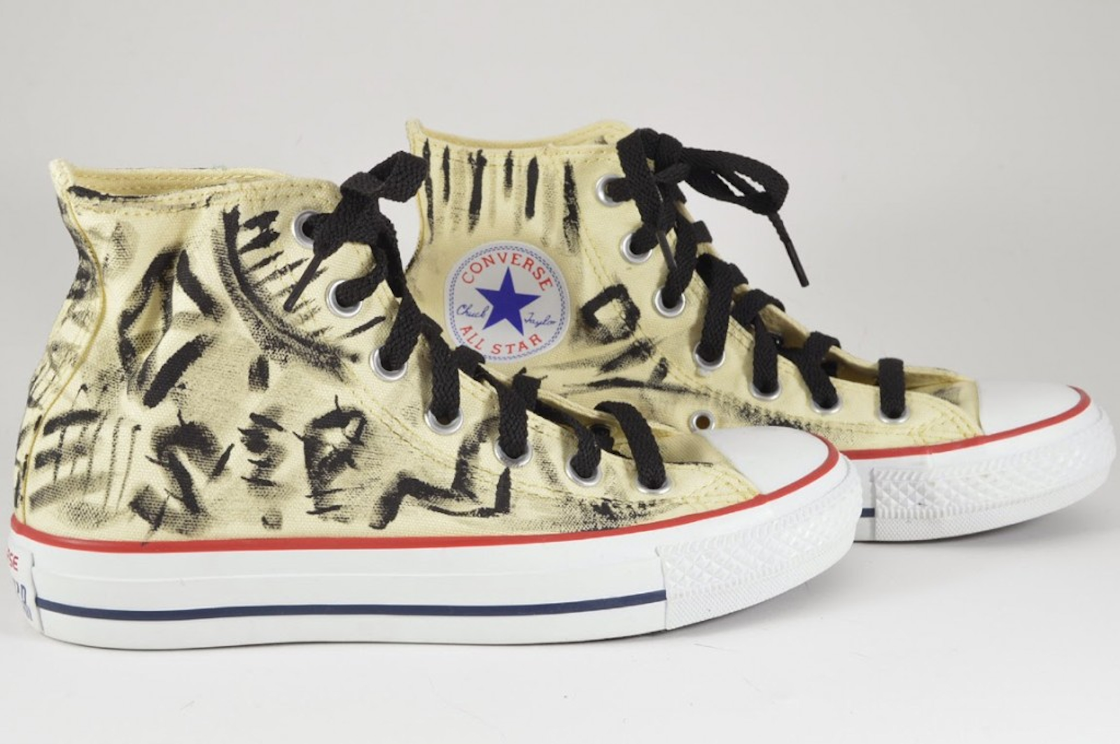 Graffiti Converse Hi Tops