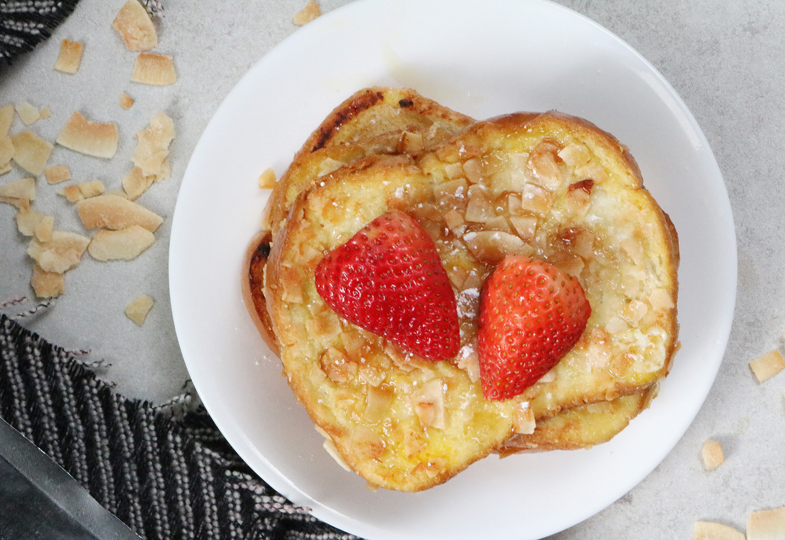 Coconut-Crusted French Toast Recipe