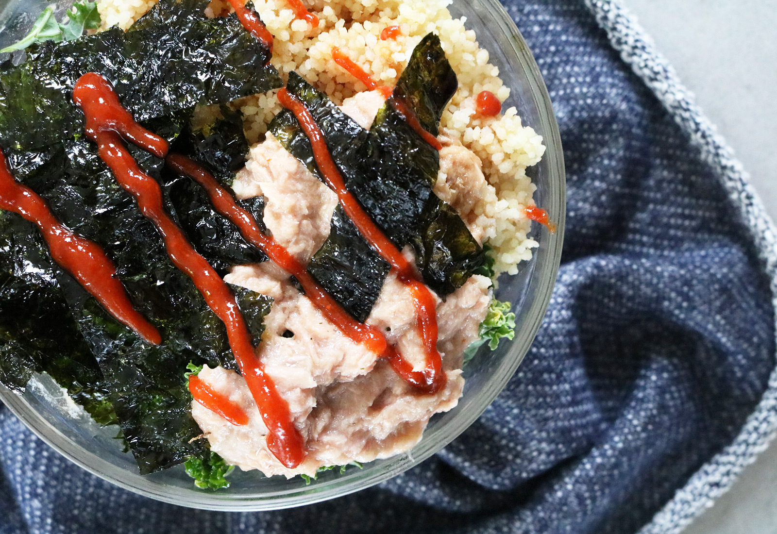 Healthy Spicy Tuna Bowl