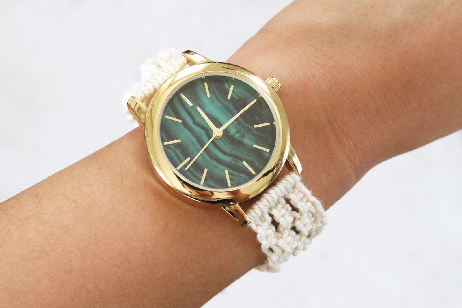eHow Macrame Watch Strap