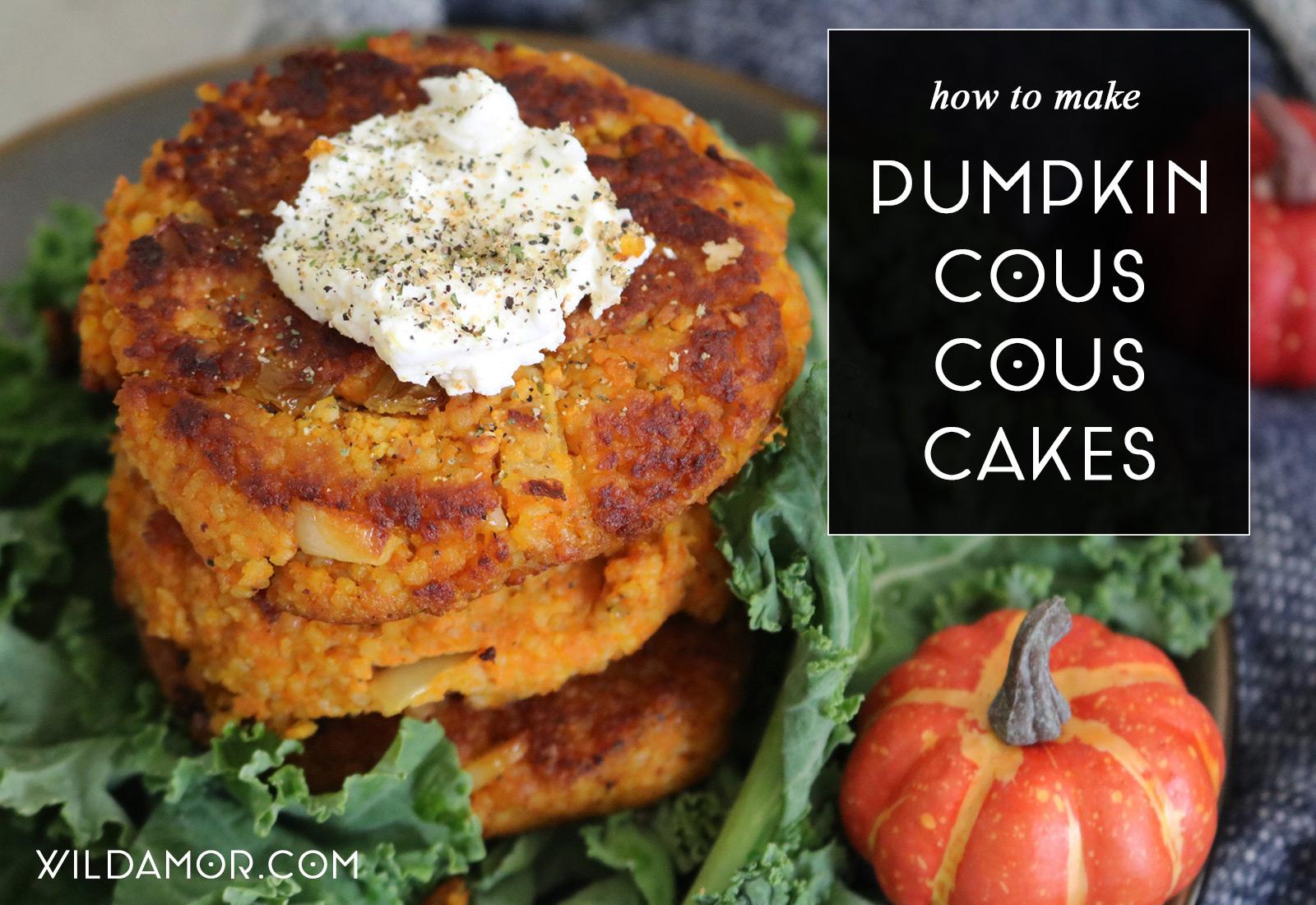 Pumpkin Cous Cous Cakes Recipe