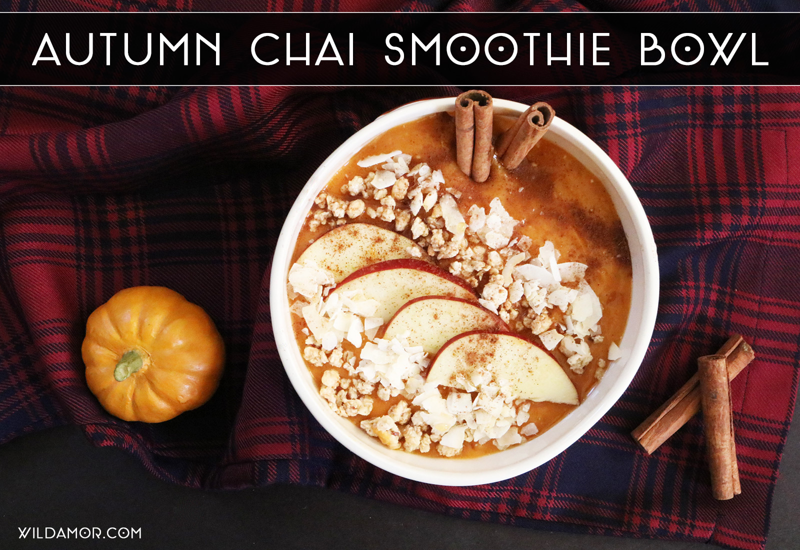Autumn Chai Smoothie Bowl
