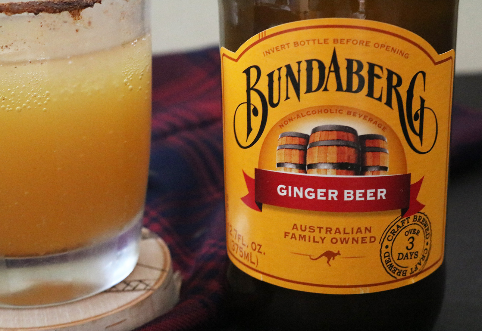 Fizzy Apple Ginger Whiskey