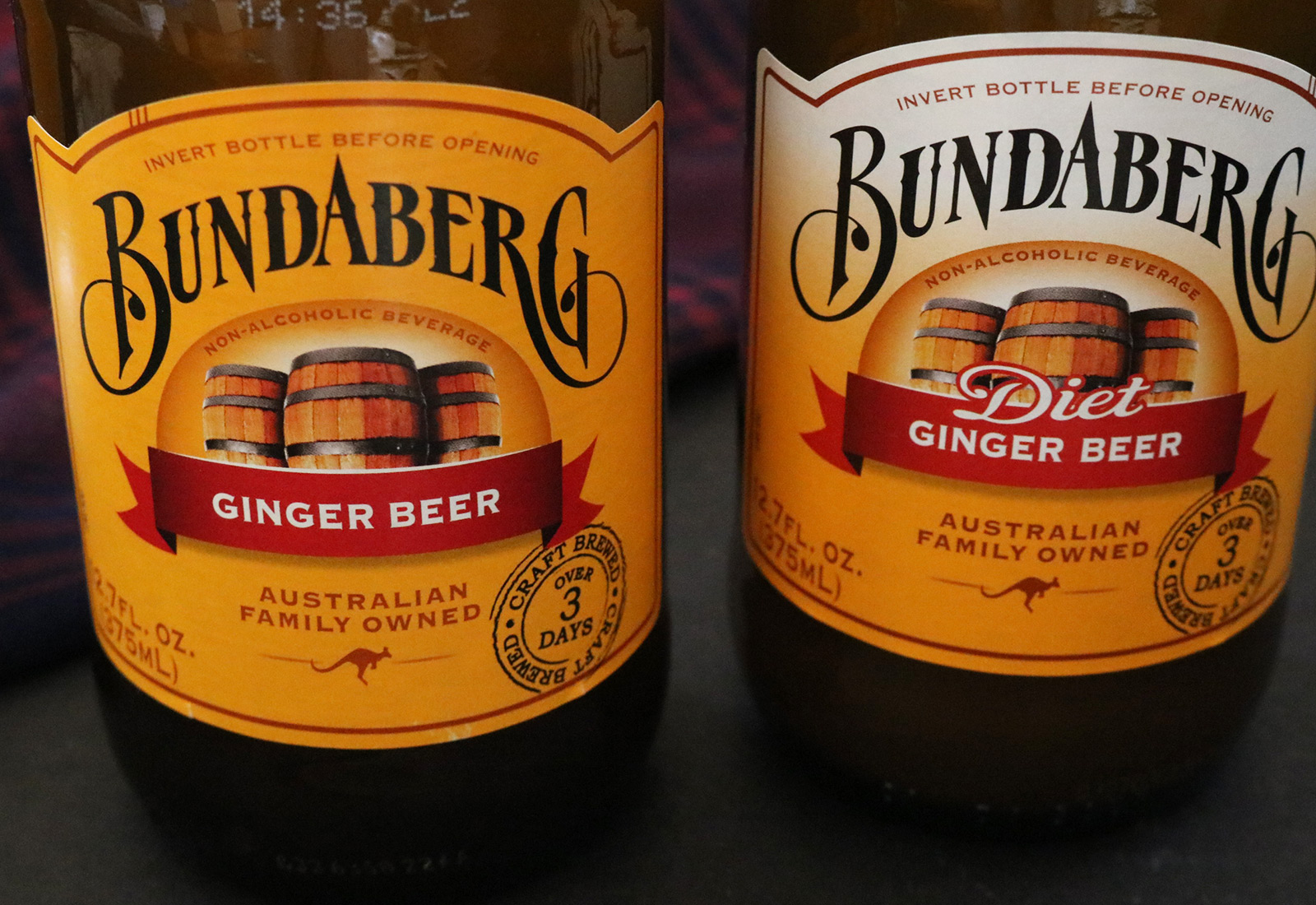 Bundaburg Apple Cider Brewed Soft Drink