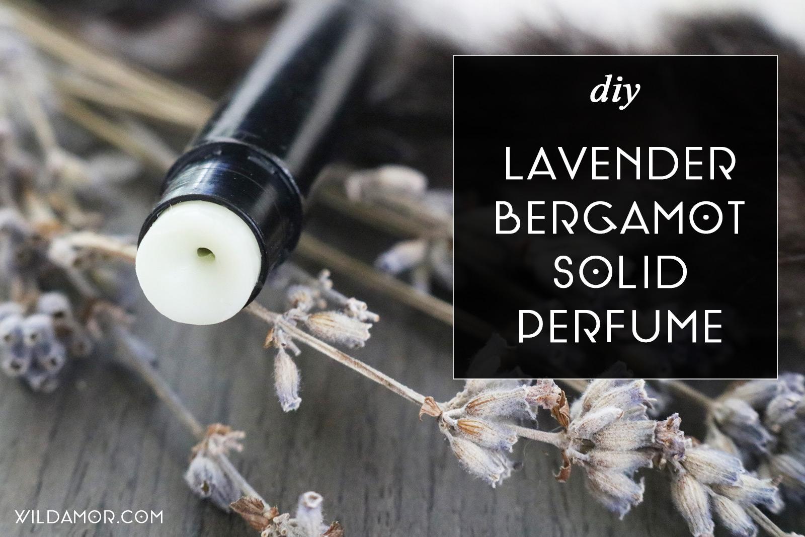 Lavender Bergamot Solid Perfume DIY