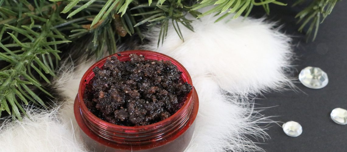 Peppermint Mocha Lip Scrub DIY