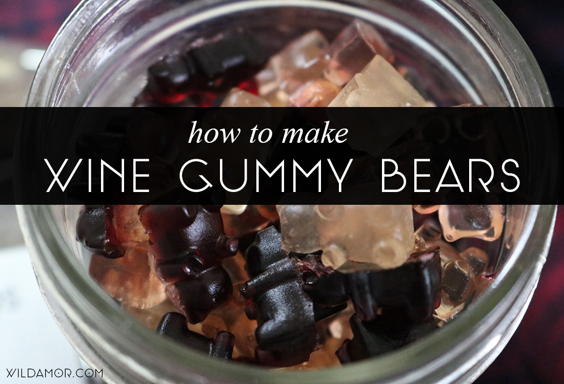 DIY Wine Gummy Bears