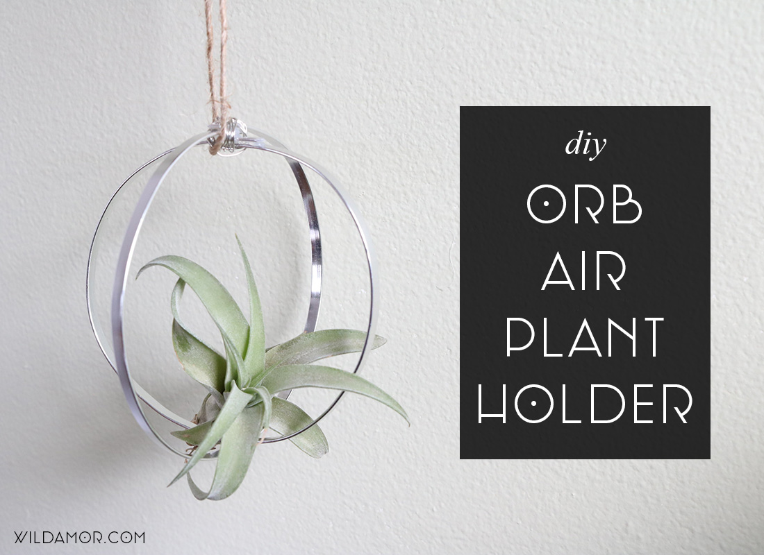 Orb Air Plant Holder DIY