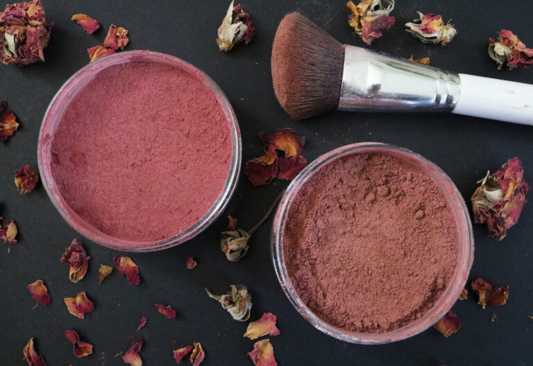 Beet Powder Blush DIY