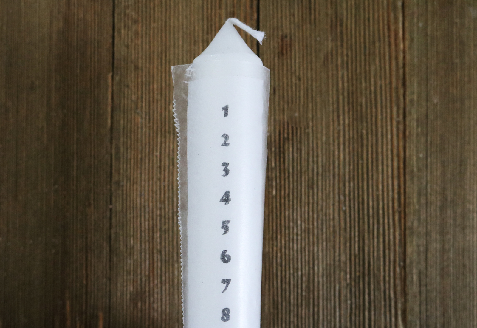 DIY Advent Candle